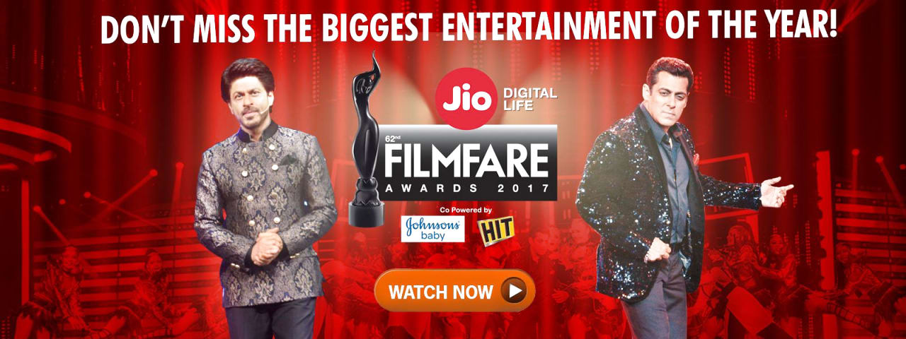 62nd Jio Filmfare Awards 2017 Part 1