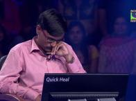 Bhavesh manages to win R. 6,40,000 - KBC 2014