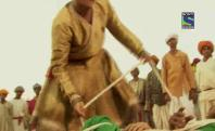 Bharat Ka Veer Putra - Maharana Pratap - Ep 166 - March 4, 2014 - Sword fighting between Jalal and Pratap