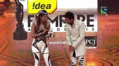 Filmfare Awards  - Ranbir introduces his co-host Priyanka Chopra - 59th Filmfare Awards 2013