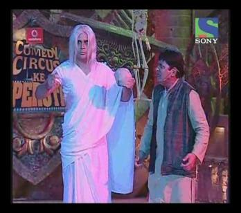 Comedy Circus Ke Superstars - Sudesh calls krushna from the dead - Clip 25