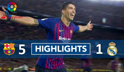 Barcelona vs Real Madrid 28th October, 2018